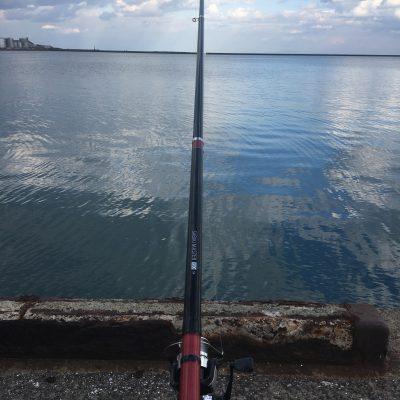 初めての海釣り!!