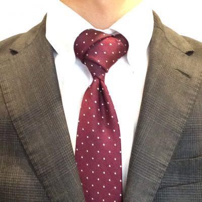 ネクタイの結び方②